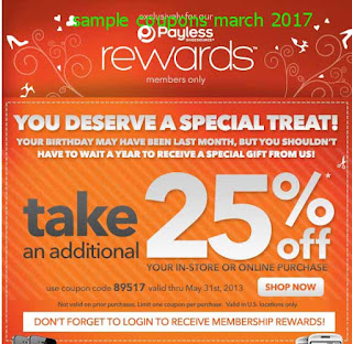 free Payless Shoes coupons march 2017