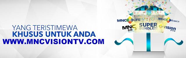 Paket dan Channel MNC Vision Terbaru