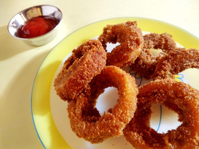 Spicy Onion Rings | Crispy Monsoon Snack