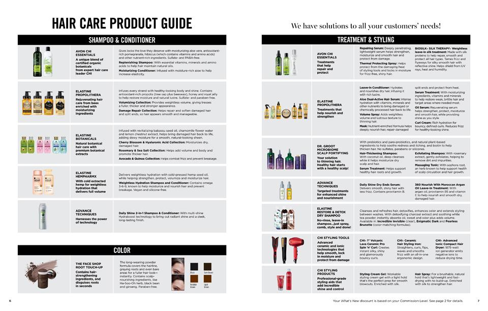 HAIR PRODUCT GUIDE