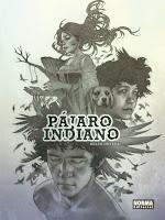 """Portada del cómic """"Pájaro indiano"""", de Belén Ortega"""