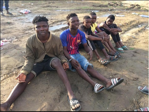 Young Robbers Terrorizing Delta Nabbed By Security Operatives