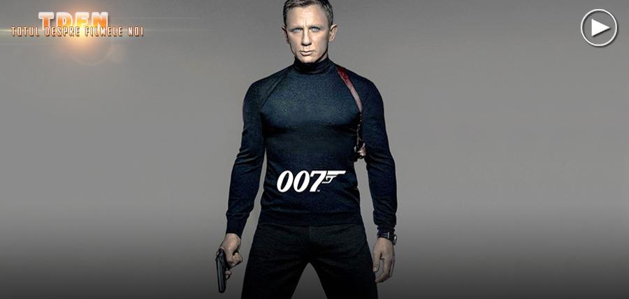 Primul teaser trailer pentru filmul James Bond cu numărul 24: SPECTRE