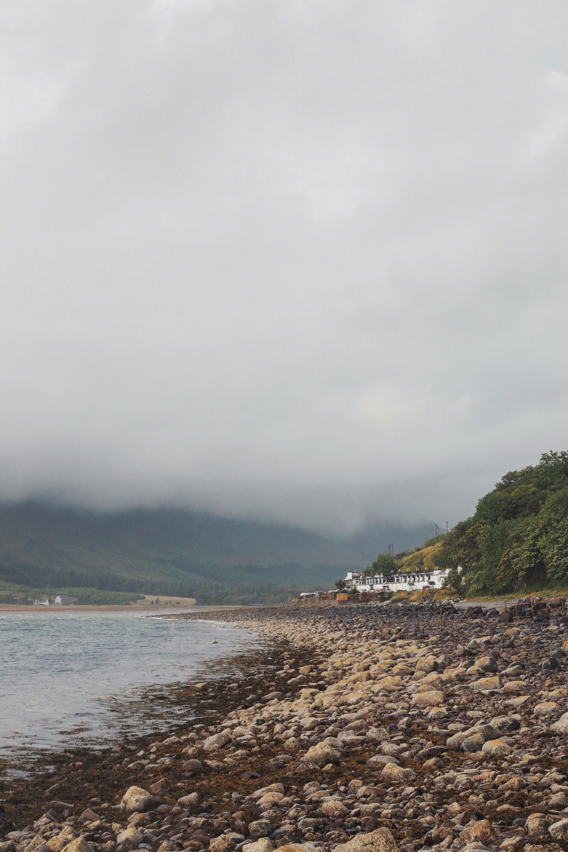 Le village d'Applecross en Ecosse
