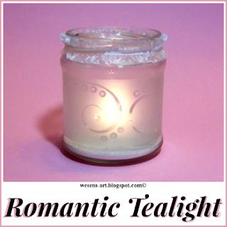 RomaticTealight wesens-art.blogspot.com
