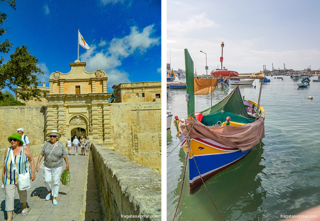 Malta: Mdina e Marsaxlokk
