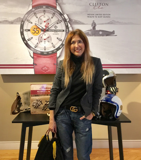 Baume & Mercier, Clifton Club Burt Munro Tribute, Relojeria, Joyeria, Sport, Indian Motorcycle, Men Style