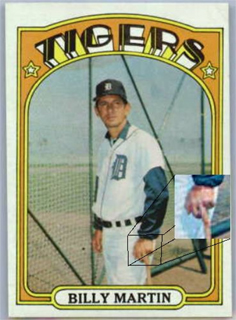 The Hall Of Very Good Top Ten Subliminal Baseball Card