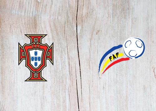 Portugal vs Andorra -Highlights 11 November 2020