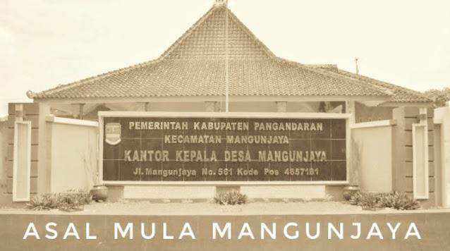 Asal Mula Desa Mangunjaya Pangandaran