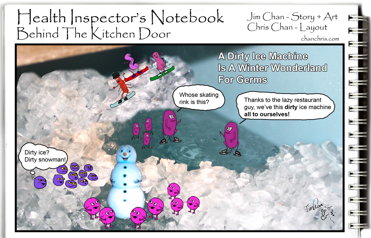 Health Inspector\'s Notebook: How safe is the ice in your drink?