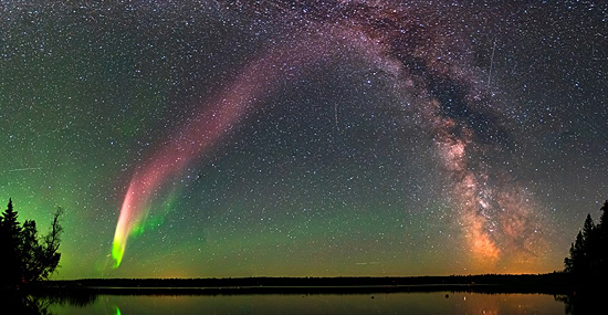 Aurora borealis STEVE - Capa