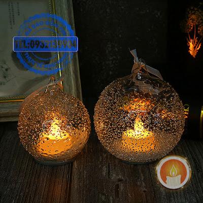 Đèn tealight quả cầu treo