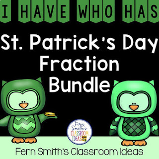 I Have Who Has Game Fractions Bundle