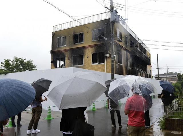 Korban Tewas Tragedi Kyoto Animation Bertambah Menjadi 35 Orang