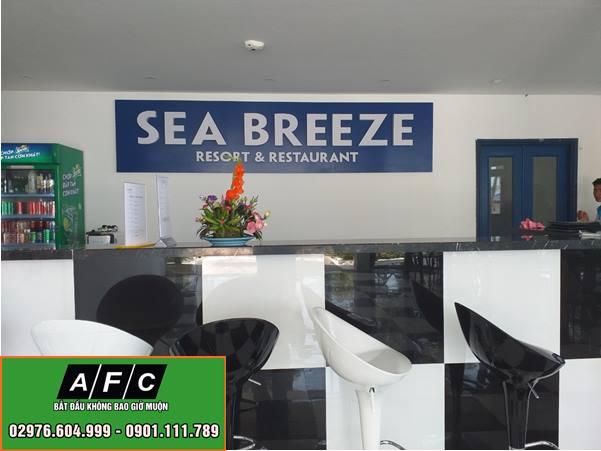 Dự án thi công quảng cáo tại Sea Breeze Phú Quốc
