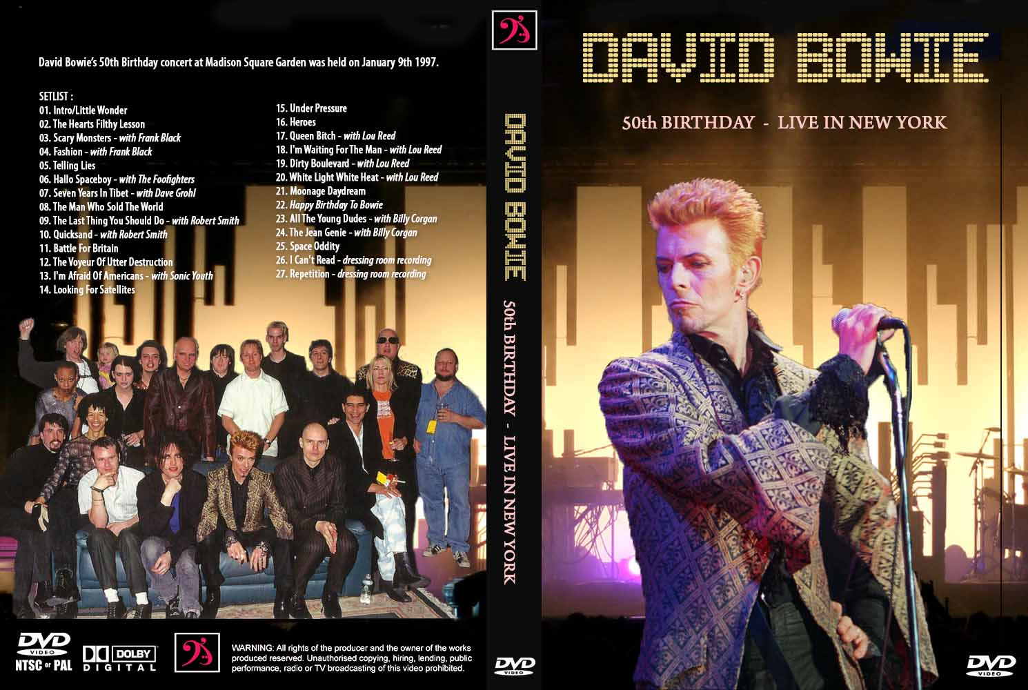 Deer5001RockCocert : David Bowie