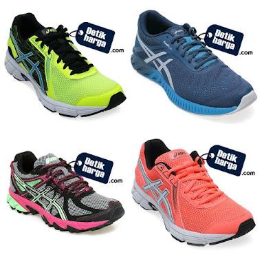 Daftar Harga Sepatu Asics Terbaru