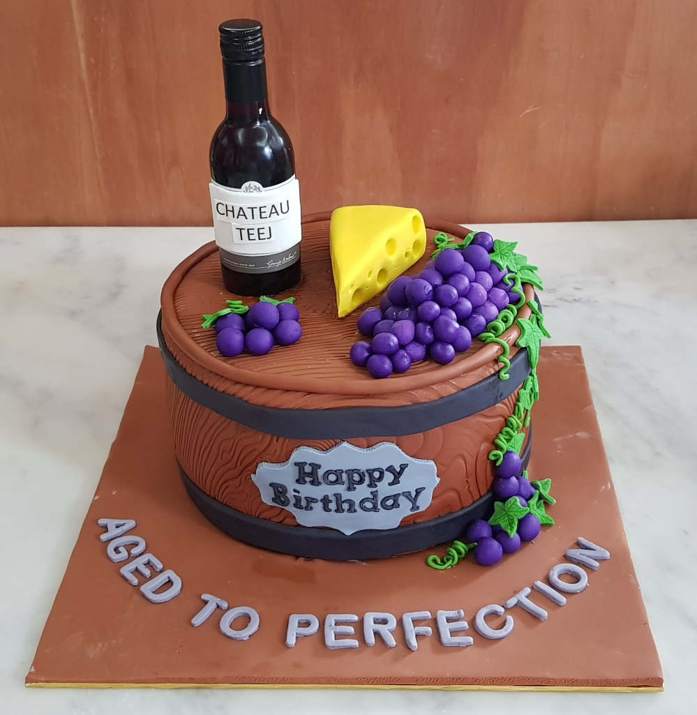 Wine And Cheese To Aged Into Perfection Birthday Cake Cheesecake Jpg 999x1025