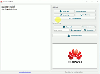 Huawei FRP Remove Tool ADB & Fastboot Mode Remove FRP one Click