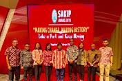 Mitra Dapat Predikat B di SAKIP Award 2019 di Jogyakarta