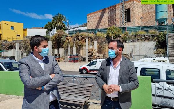 Arrancan las obras del vivero de empresas y edificio de viviendas de Tijarafe