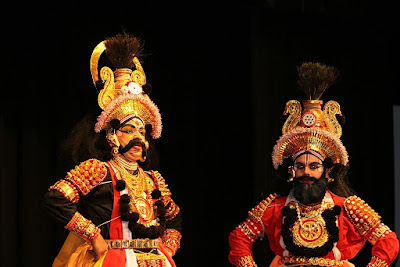 Panar Vesha, an imitation of Yakshagana