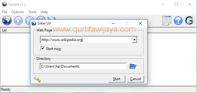 GetLeft Website Downloader