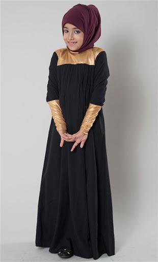 Model baju gamis anak terbaru