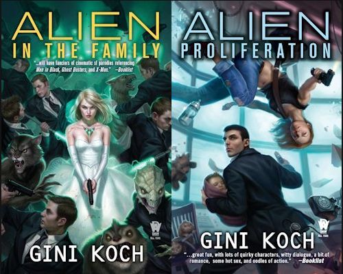 Review - Alien vs. Alien by Gini Koch and Giveaway - December 9, 2012