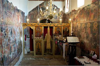 Αποτέλεσμα εικόνας για Η Ιερά Μονή της Αγίας Παρασκευής στο Μονοδένδρι.