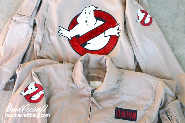 How to make ghostbuster costumes quick for Halloween or fan comic conventions.