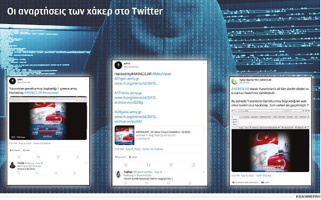 Στο στόχαστρο Τούρκων χάκερ βρίσκονται τα τελευταία εικοσιτετράωρα ιστοσελίδες σχετιζόμενες με τον Στρατό Ξηράς.