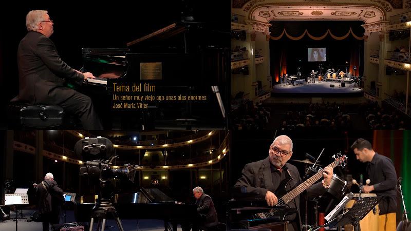 José María Vitier - ¨Un señor muy viejo con unas alas enormes¨ - Videoclip. Portal Del Vídeo Clip Cubano