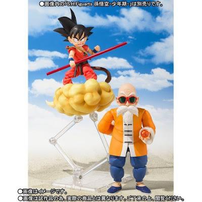 """S.H.Figuarts Mutenrōshi de """"Dragon Ball"""" - Tamashii Nations"""