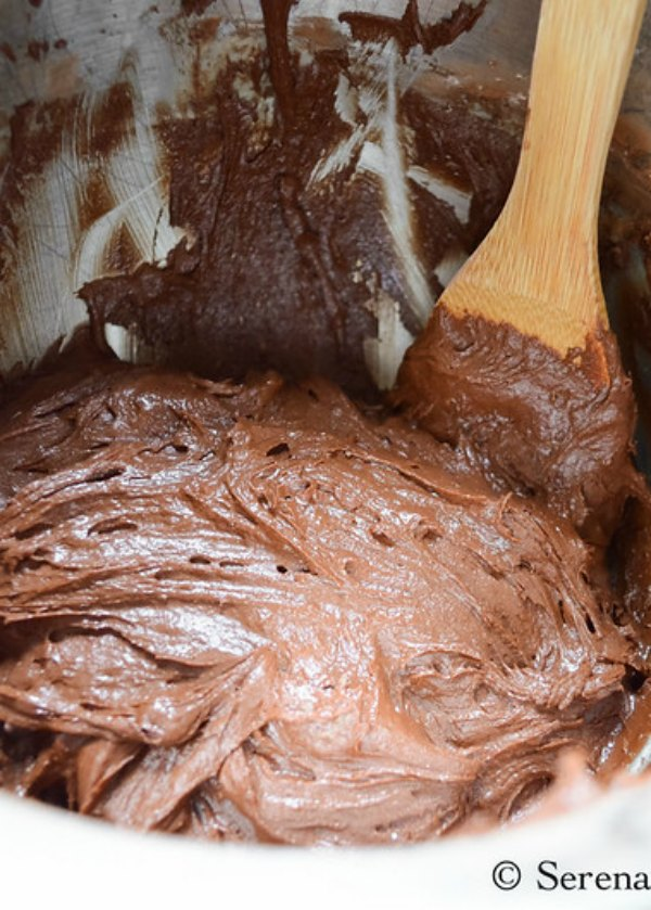 Chocolate Crinkle Cookie Batter from Serena Bakes Simply From Scratch.