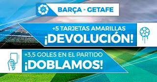 Paston promo Barcelona vs Getafe 22-4-2021
