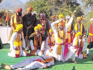 Pandav Nritya, Uttarakhand Foke Dance