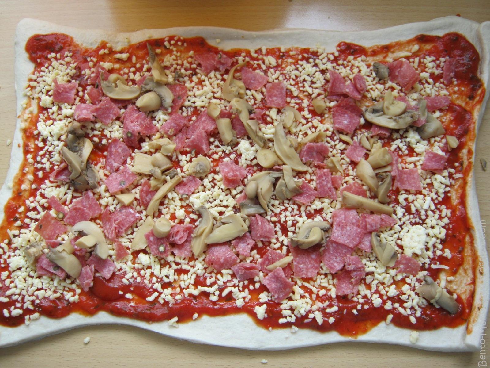 pizzaschnecken mit fertigteig