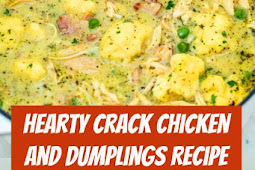 Hearty Crack Chicken and Dumplings Recipe #Chicken #Dumplings #ChickenDumplings #comfortfood