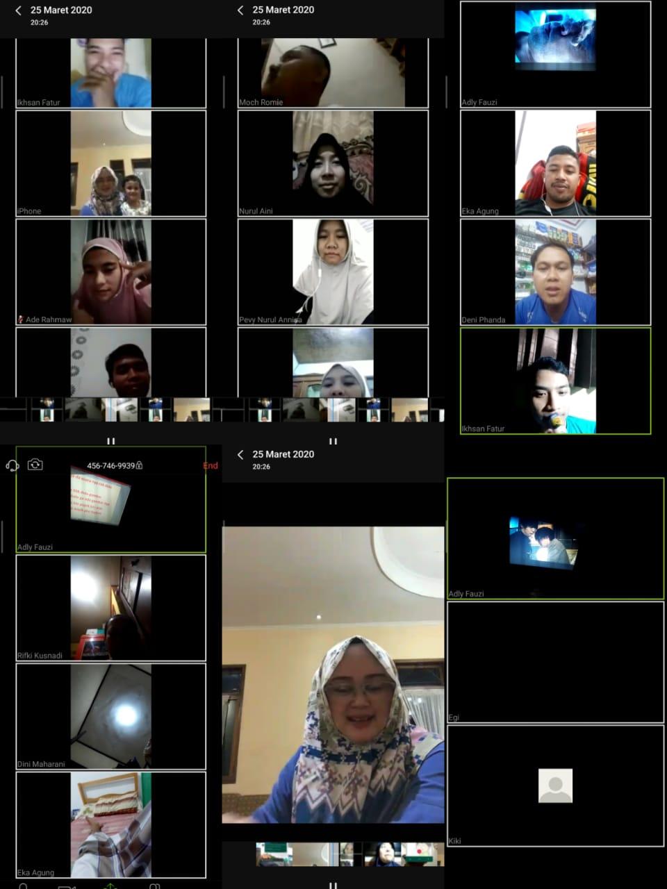 Begini Cara Menggunakan Aplikasi Zoom Untuk Meeting Online Di Hp Android Rapat Dari Rumah Karena Korona