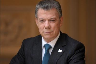 Prêmio Nobel da Paz e ex-presidente da Colômbia Juan Manuel Santos