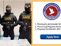 Permohonan Terbuka Jawatan Agensi Anti Dadah Kebangsaan AADK