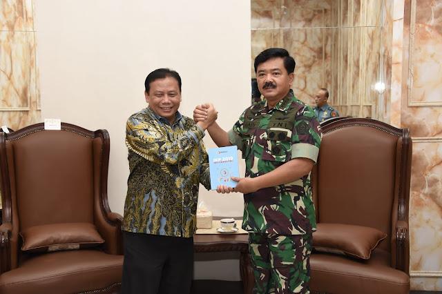 Panglima TNI: TNI Siap Bantu Bawaslu RI Demi Kelancaran Pemilu 2019