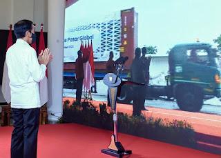 Pidato Presiden Pelepasan Ekspor Ke Pasar Global Secara Virtual