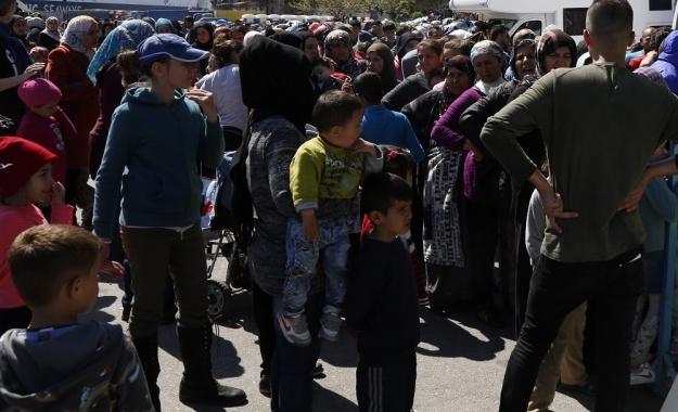 Έσπασαν τους φράχτες στο hotspot της Χίου