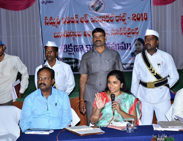 Swetha Mohanty IAS Officer in Election Duty