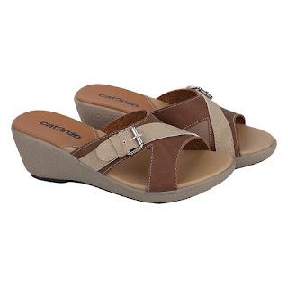 Sandal Wedges Wanita Catenzo RN 986