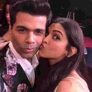Deepika Padukone With Karan Johar