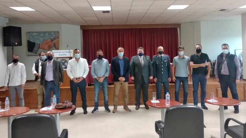 Συνάντηση συνδικαλιστών αστυνομικών του Έβρου με τον Αρχηγό της ΕΛ.ΑΣ. Αντιστράτηγο Μιχαήλ Καραμαλάκη